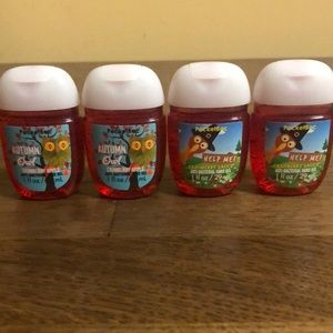 4 Bath & Body Works Hand Sanitizers